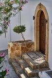 Двери в старом доме Стоковые Изображения RF