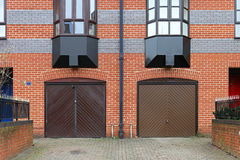 Двери гаража Стоковое Фото
