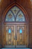 двери готские Стоковая Фотография