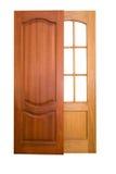 двери деревянные Стоковые Изображения RF