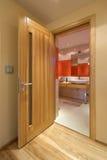 двери деревянные Стоковая Фотография