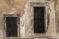 Двери для большого и двери для малого Стоковые Изображения