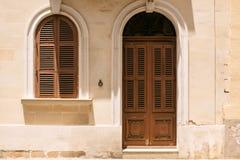 Двери и балконы Windows Стоковое фото RF