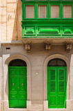 Двери и балконы Windows Стоковое Изображение