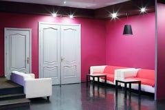 Двери и софы в кино Neva Стоковая Фотография RF