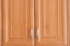Двери кухонного шкафа Стоковая Фотография