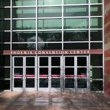 Двери к выставочному центру Феникса, AZ стоковые фотографии rf