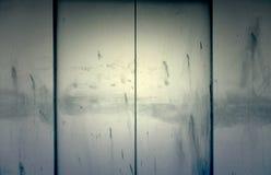 Двери металла лифта Стоковые Фото