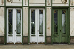 двери опускают 3 Стоковое Изображение