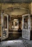двери раскрывают Стоковое Изображение RF