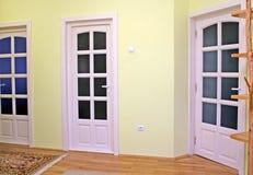 двери самонаводят интерьер Стоковые Изображения RF