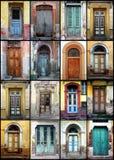 двери старые стоковое фото