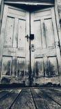 Двери суждения стоковое изображение