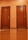 Двери туалета Стоковое Фото
