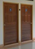 Двери туалета Стоковые Изображения
