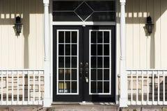 двери французские Стоковая Фотография