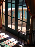 двери французские стоковое изображение