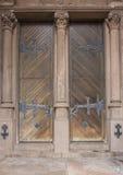 Двери церков троицы Бостона Стоковые Изображения RF