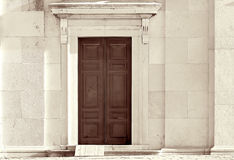 двери церков Стоковое фото RF