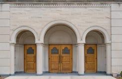 двери церков Стоковые Изображения