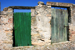 двери 2 Стоковое фото RF