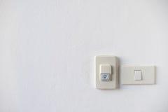 Дверной звонок дома с выключателем Стоковые Фотографии RF