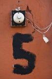 дверной звонок Стоковое Изображение RF