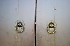 Дверь Œold ¼ doorï традиционного китайския Стоковое фото RF