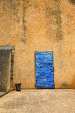 Дверь лаванды Стоковые Фото