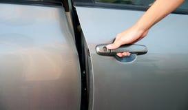 дверь автомобиля открытая Стоковое Изображение RF