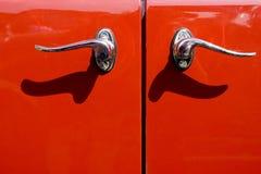 дверь автомобиля старая Стоковая Фотография