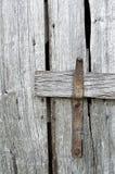 Дверь амбара, защелка Стоковые Изображения