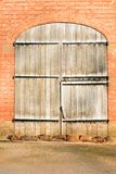 дверь амбара Стоковые Изображения RF