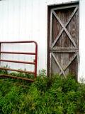 дверь амбара Стоковое Изображение