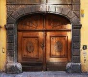 Дверь антиквариатов Стоковые Фотографии RF