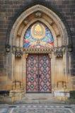 Дверь базилики St Peter и St Paul Стоковые Фото