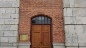 Дверь башни с часами Стоковые Изображения