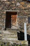 Дверь башни Svaneti стоковая фотография rf