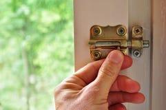 Дверь болта Стоковые Изображения
