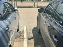 Дверь бортового современного автомобиля Стоковое Изображение