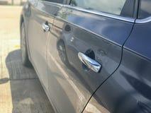 Дверь бортового современного автомобиля Стоковые Фотографии RF