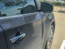 Дверь бортового современного автомобиля Стоковые Изображения RF