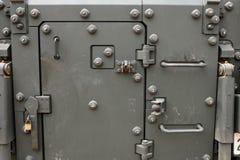 Дверь военного транспортного средства Стоковое Изображение RF