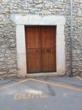 Дверь в городе Стоковая Фотография RF