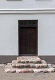 Дверь в поместье Zypliai Стоковые Фото
