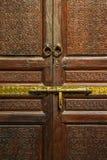 Дверь в Marrakesh Стоковое Фото