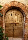 Дверь в Montemerano Стоковое фото RF