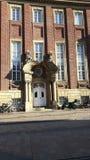 Дверь в nster Германии ¼ MÃ стоковая фотография