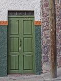Дверь в San Miguel de Альенде, Гуанахуате, Мексике Стоковые Изображения RF