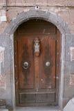 Дверь в Sanaa, Йемене Стоковое Изображение RF